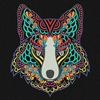 Picture of Multi-Color Wolf
