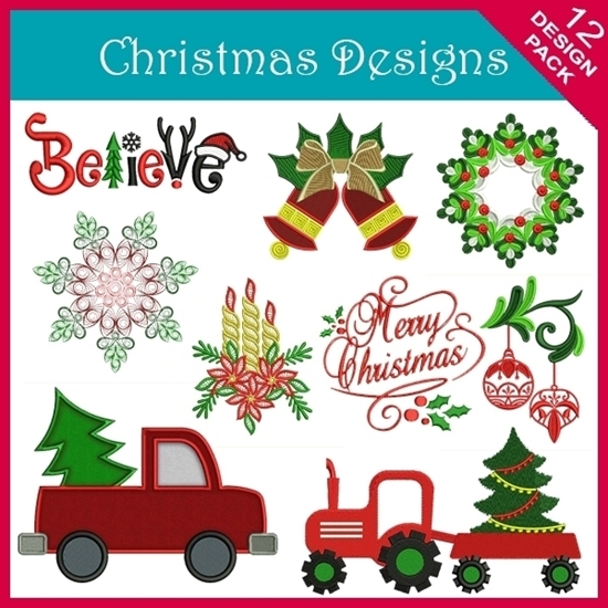 Picture of Christmas 12 Design Pack