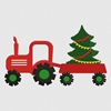 Picture of Christmas Tree & Truck