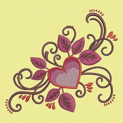 Picture of Floral Heart