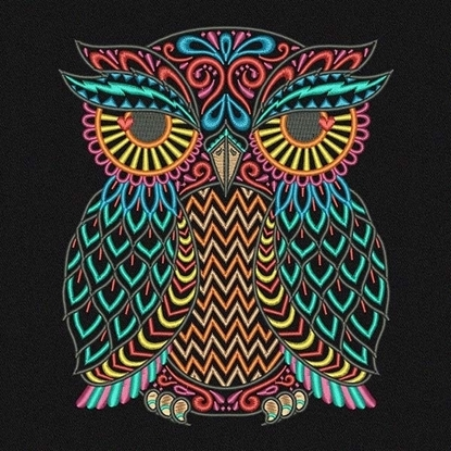 Picture of Ethnic Owl
