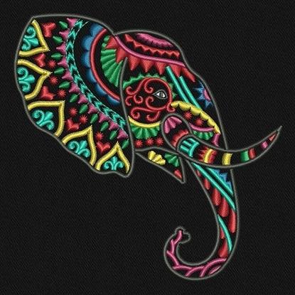 Imagen de Ethnic Elephant Head