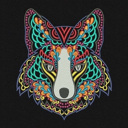 Picture of Ethnic Wolf